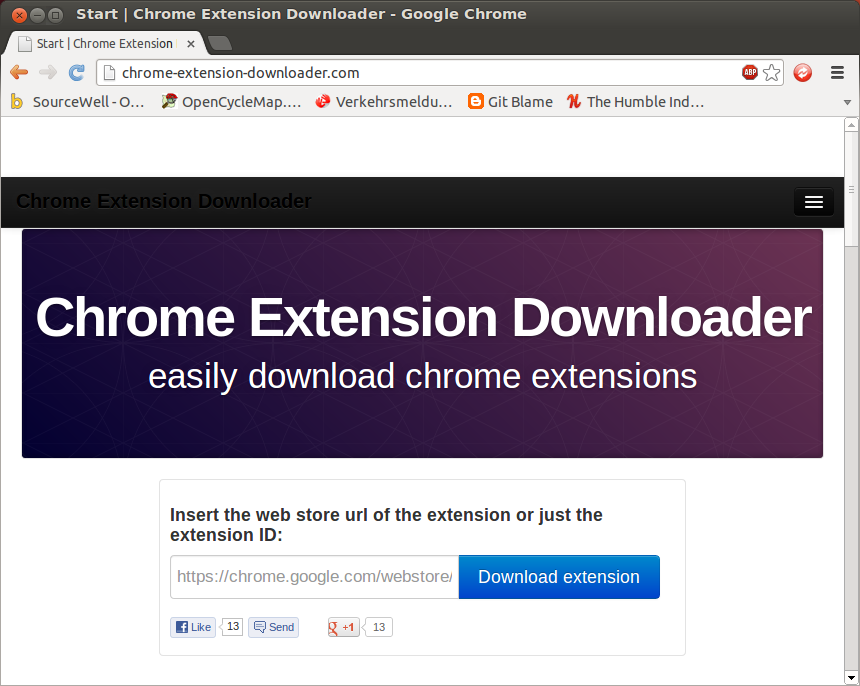ChromeExtensionDownloader